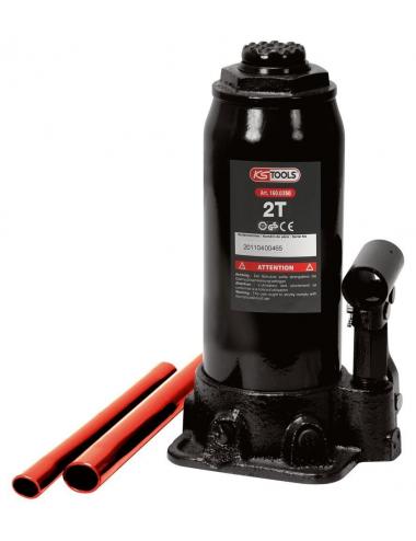 Cric bouteille hydraulique - Capacité 15 Tonnes