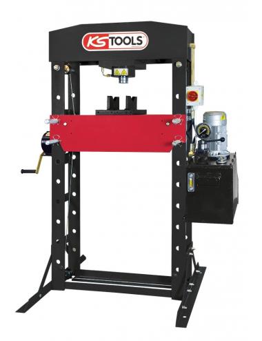 Presse hydraulique d'atelier 50 tonnes motorisée