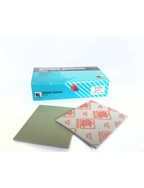 Boîte 20 éponges abrasives 115 x 140 mm micro-fines