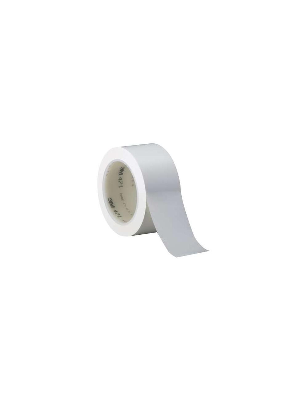Ruban adhesif 471 simple face blanc50.8mm x33m (Emballage individuel)