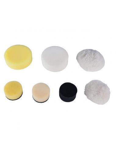 Tampons de nettoyage en plastique noir Ø 50mm pour 515.5125, 5 pcs