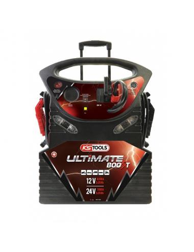 Booster à batterie 12V/24V PL à trolley - 6200A/3100A