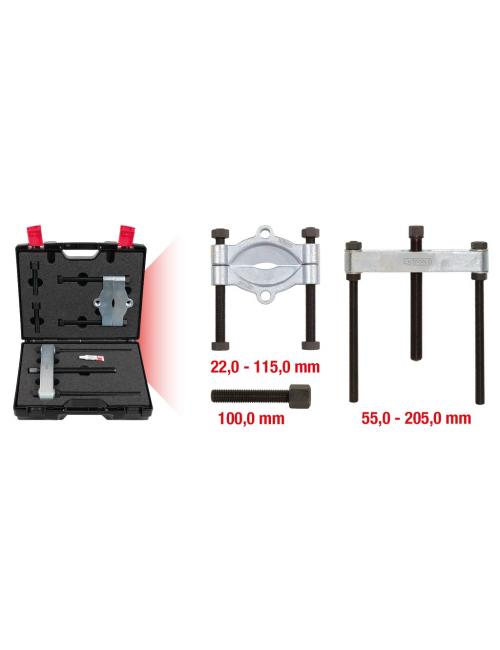 Coffret de décolleur de roulement - Diamètre 22 - 115mm avec potence