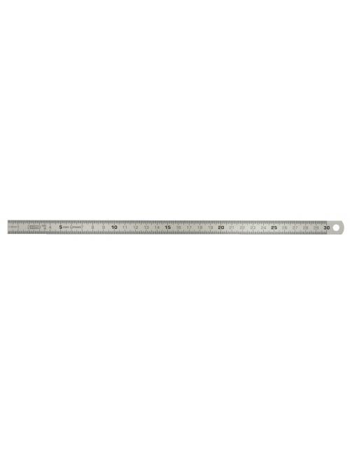 Reglet flexible en inox, L.300 mm