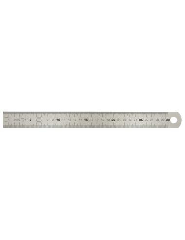 Reglet semi-rigide en inox, L.300 mm