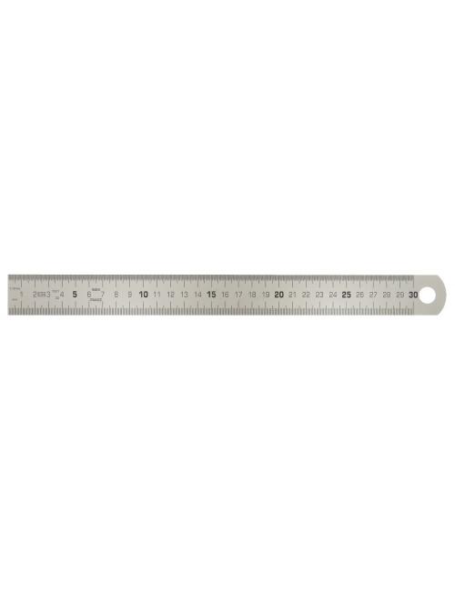 Réglet semi-rigide en inox, L.1000 mm - H.30 mm