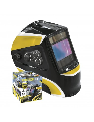 MASQUE LCD ERGOTECH 5-9/9-13 BLACK