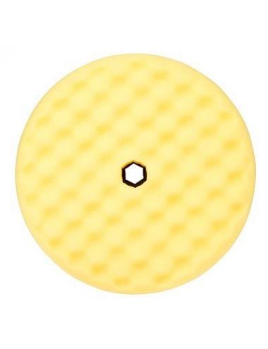 Mousse jaune double face alvéolé Quick Connect Ø216