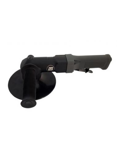 Disqueuse à renvoi d'angle, poignée isolée, M14, échappt A 180mm