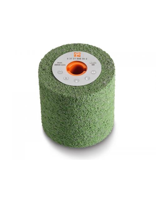 Roues à poncer élastique 100x100 grain 180