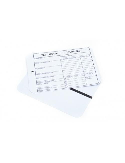 (100) plaquettes test gris clair