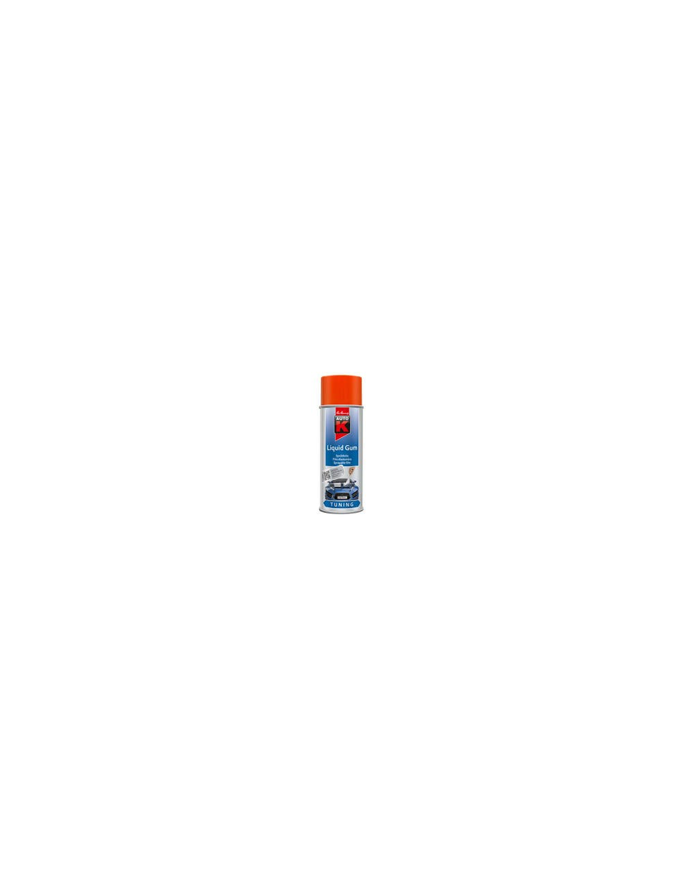 Aérosol Liquid Gum 400ml ORANGE NEON