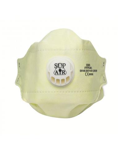 Masque FFP3 NR D SL Pliable Valve (la boite de 20 masques)
