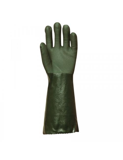 Gants polymère vert, T8 40 cm Actifresh®, chimique