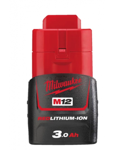 Batterie MILWAUKEE 12V 3,0Ah Red Li-Ion - Système M12