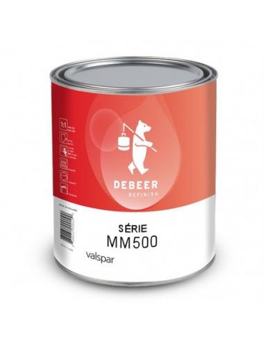 MM551 IC184 PEINTURE AUTOMOBILE Marron Rouge Transparent 1L 9551/1