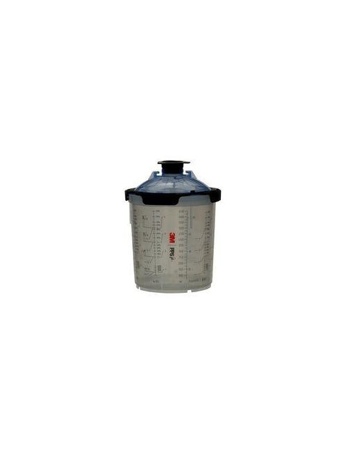 3M PPS 2.0 Système de godet Kit 650ml 125 microns / Boîte de 50
