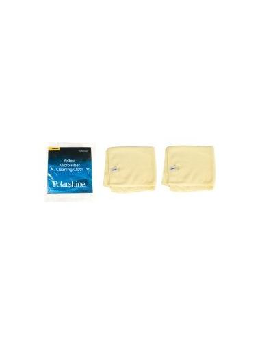 Chiffon de lustrage jaune (le lot de 2)