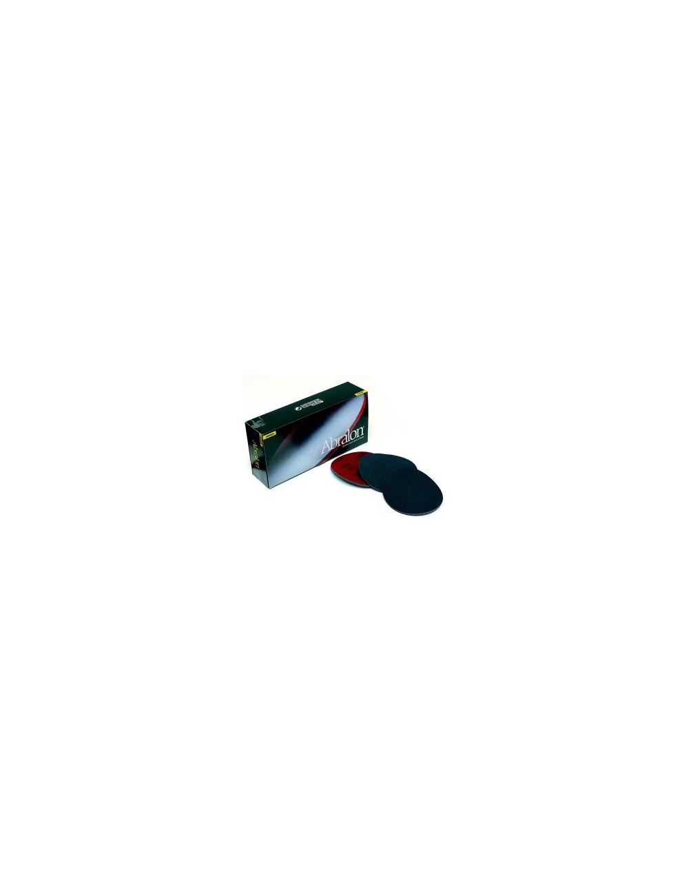 Boite de 20 disques abralon diametre 77 mm G 1000