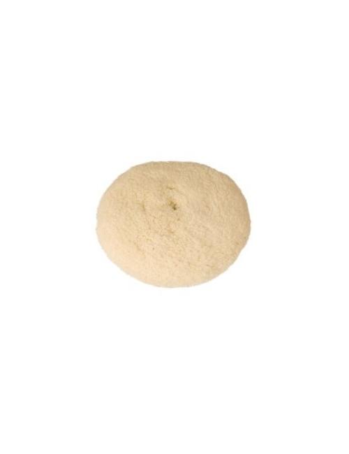 Peau de mouton à laine torsadée dble  face diam 185 mm