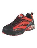 Chaussures de sécurité - Modèle coussin d'air rouge T40